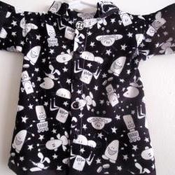 Rock Shirt Boy Toddler With Aliens Size 6 to 12 Months