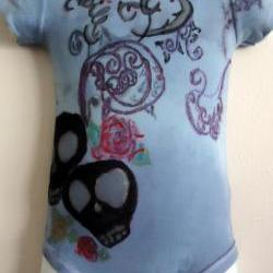 Rockabilly OOAK Onesie Unisex